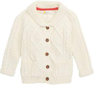 Boden Mini Cable Knit Cardigan