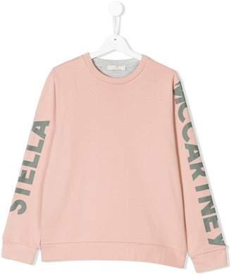 Stella McCartney TEEN two-tone sweatshirt