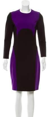 Michael Kors Colorblock Knee-Length Dress