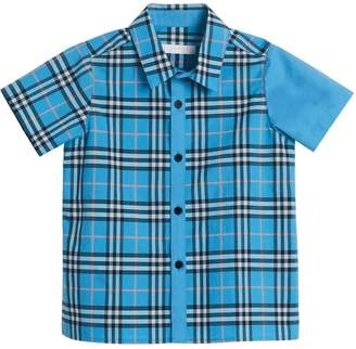 Burberry Archive check short-sleeve shirt