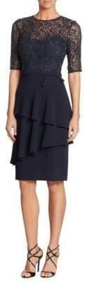 Teri Jon Lace Sheath Dress