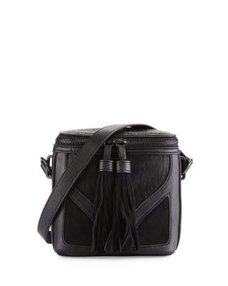 French Connection Heidi Faux-Leather Crossbody Bag, Black $50 thestylecure.com