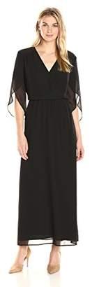 James & Erin Women's Angel Sleeve Maxi