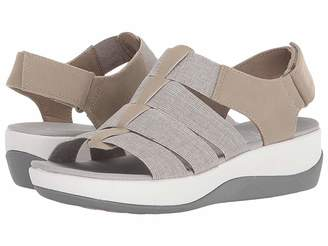 27437bfc3e6 Clarks White Heeled Women s Sandals - ShopStyle