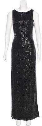 Lauren Ralph Lauren Sequined Evening Dress