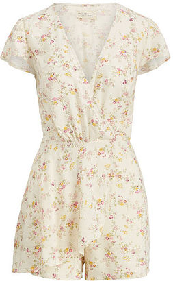 Ralph Lauren Denim & Supply Floral-Print Wrap Romper $98 thestylecure.com
