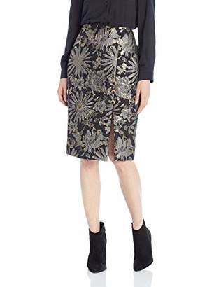 Trina Turk Women's Southern Comfort Pencil Skirt with Slit