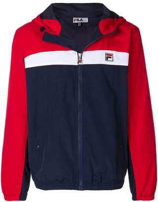 Fila panelled clipper jacket
