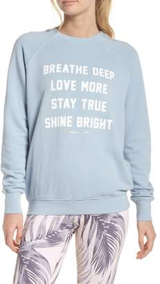 Spiritual Gangster Breathe Sweatshirt