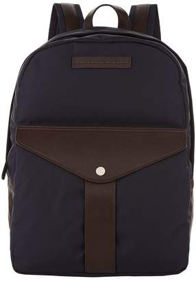 Brunello Cucinelli Leather Trim Backpack