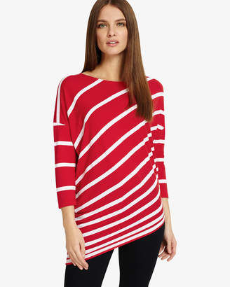 Phase Eight 3/4 Sleeve Amy Asymmetric Top