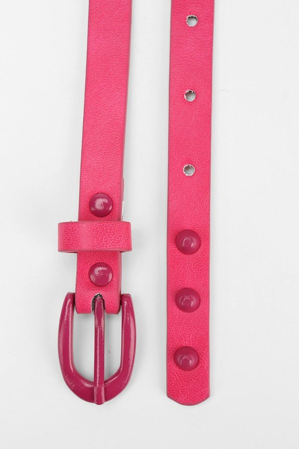 Urban Outfitters Cooperative Candy-Stud Skinny Belt