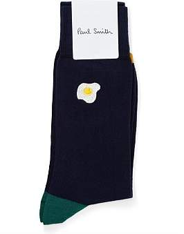 Paul Smith Emroidered Food Sock