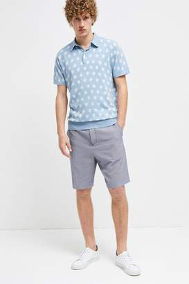 French Connection Seersucker Suiting Shorts