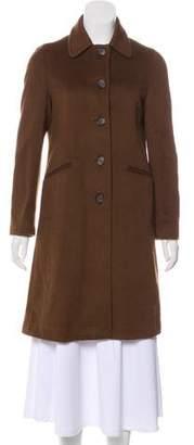 Barneys New York Barney's New York Knee-Length Cashmere Coat