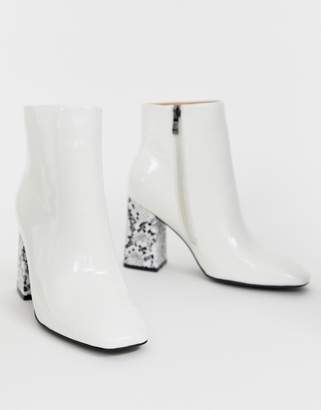 White Ankle Boots Shopstyle