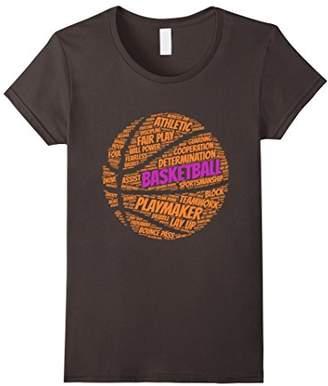 Basketball sayings shirt quotes for team gift girls kids
