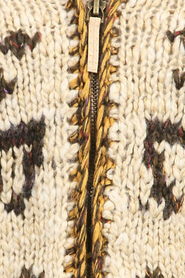 Free People Rudolph Cardigan in Natural Combo