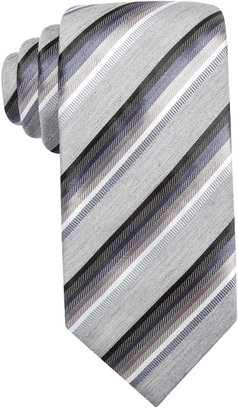 Alfani Spectrum Men's Tulum Striped Slim Tie, Only at Macy's $52.50 thestylecure.com
