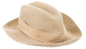 Hermes Panama Straw Fedora Hat