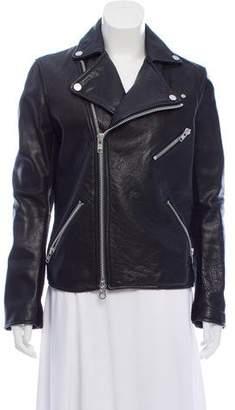 The Arrivals Leather Biker Jacket