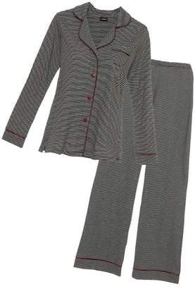 Cosabella Bella Stripe Long Sleeve Top Pant Pajama Set