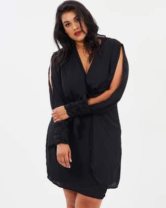 Plus Size Black Tie Dresses Shopstyle Australia