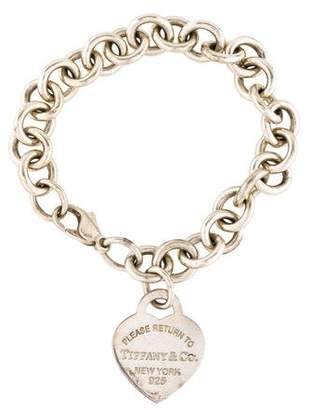 Tiffany & Co. & Co. Return To Heart Tag Charm Bracelet