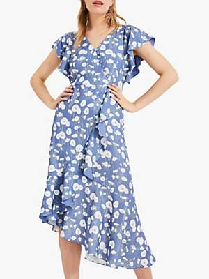 fadadc5a14c Phase Eight Veronica Ditsy Floral Print Wrap Dress
