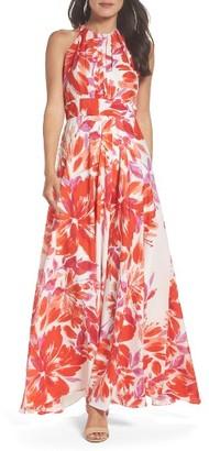 Women's Eliza J Chiffon Gown $158 thestylecure.com
