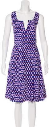 Tory Burch Midi Linen Dress