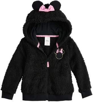 Disneyjumping Beans Disney's Minnie Mouse Toddler Girl Sherpa Hoodie by Jumping Beans
