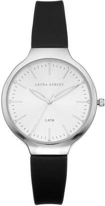 Laura Ashley Lifestyles Women's Crystal Accent Watch