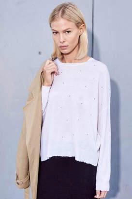 Sundry Rhinestones Sweater