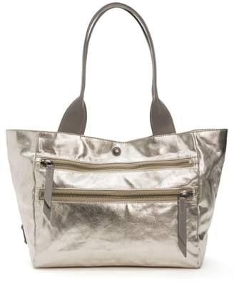 Frye Ivy Metallic Nylon Shoulder Tote