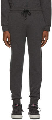 BOSS Grey Embroidered Logo Lounge Pants