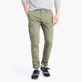 J.Crew 484 Slim-fit stretch cargo pant in garment-dyed herringbone