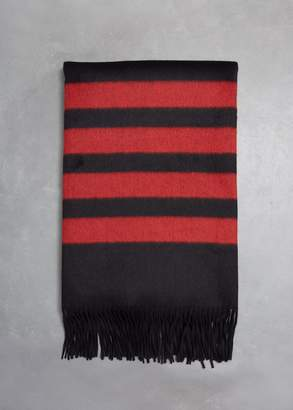 Calvin Klein Striped Blanket