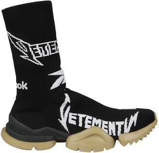 Vetements Ribbed Logo Sneakers