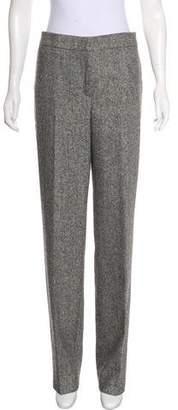 Oscar de la Renta Mid-Rise Wool Pants w/ Tags