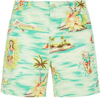 Polo Ralph Lauren Hawaii Print Shorts