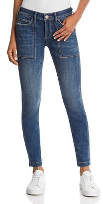 True Religion Halle Mid Rise Utility Skinny Jeans in Wild Gemstone