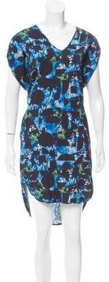 Zero Maria Cornejo Digital Print High-Low Dress