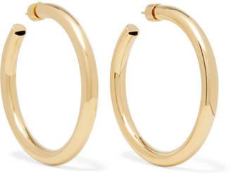 Jennifer Fisher Samira 2 Gold-plated Hoop Earrings