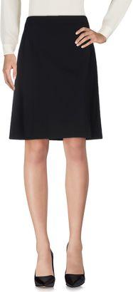 BOSS BLACK Knee length skirts $163 thestylecure.com