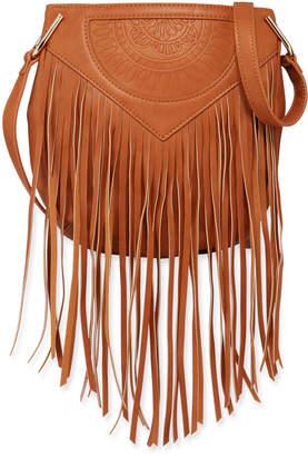 Urban Originals Rose Queen Fringe Crossbody Bag