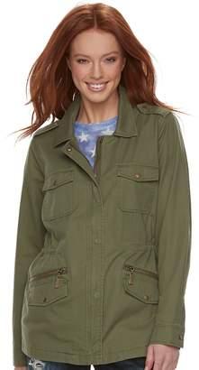Rock & Republic Women's Military Twill Anorak Jacket