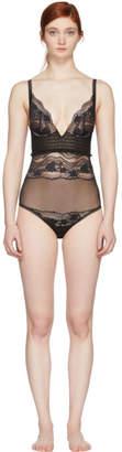 La Perla Black Lapis Lace Bodysuit