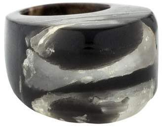 Marni Quartz, Resin & Horn Cocktail Ring