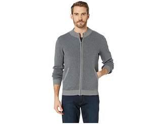Agave Denim Beacon Long Sleeve Full Zip Sweater